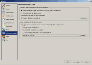 Ustawienie układu współrzędnych w QGIS