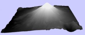 Góra św Heleny mesh