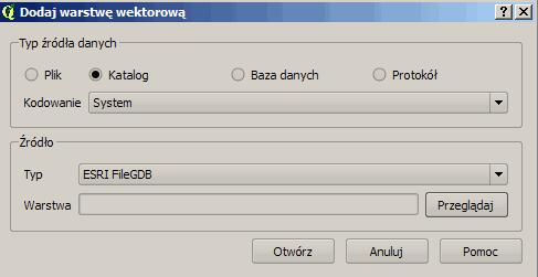 Instalacja QGIS 2 2 0 z obsługą geobaz plikowych GDB firmy ESRI