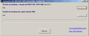 Konwerter danych BDOT10k do QGIS
